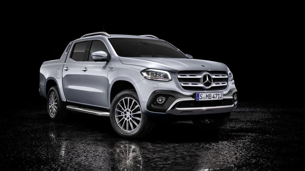 Mercedes-Benz X 350 d 4Matic.