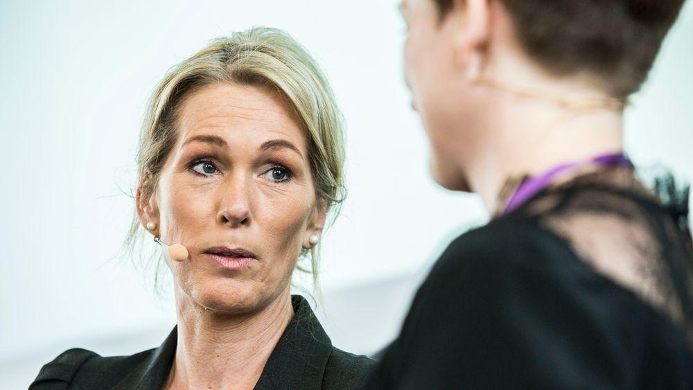 Direktør Anita Krohn Traaseth i Innovasjon Norge, her under Medienettverkets konferanse i november i fjor.