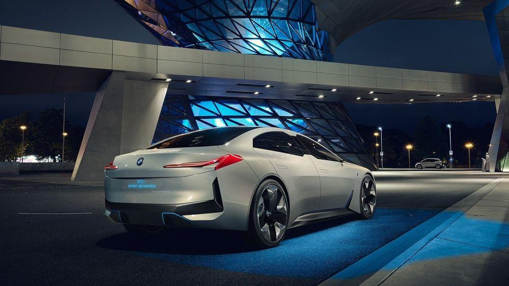 BMW Vision Dynamics ble vist fram første gang i Frankfurt i september i fjor.