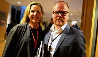 Featureredaktør Jane Throndsen og sjefredaktør Gard Steiro i VG blir Vale Frogners nye kolleger. Arkivfoto