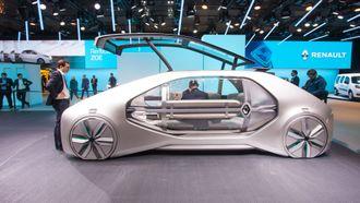 Renault EZ-GO er en selvkjørende folkefrakter.