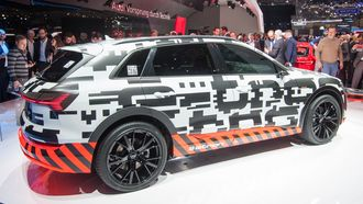 Audi E-Tron Quattro prototype.