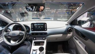 Hyundai Kona interiør.