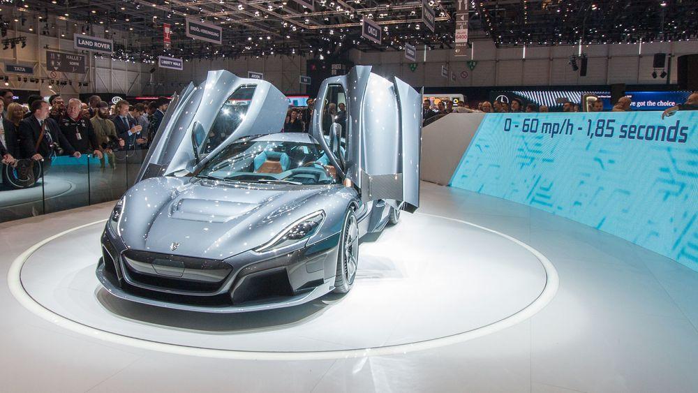 Rimac Automobili lanserte sin andre bil, som har ekstrem ytelse. Bilen har fire elmotorer.