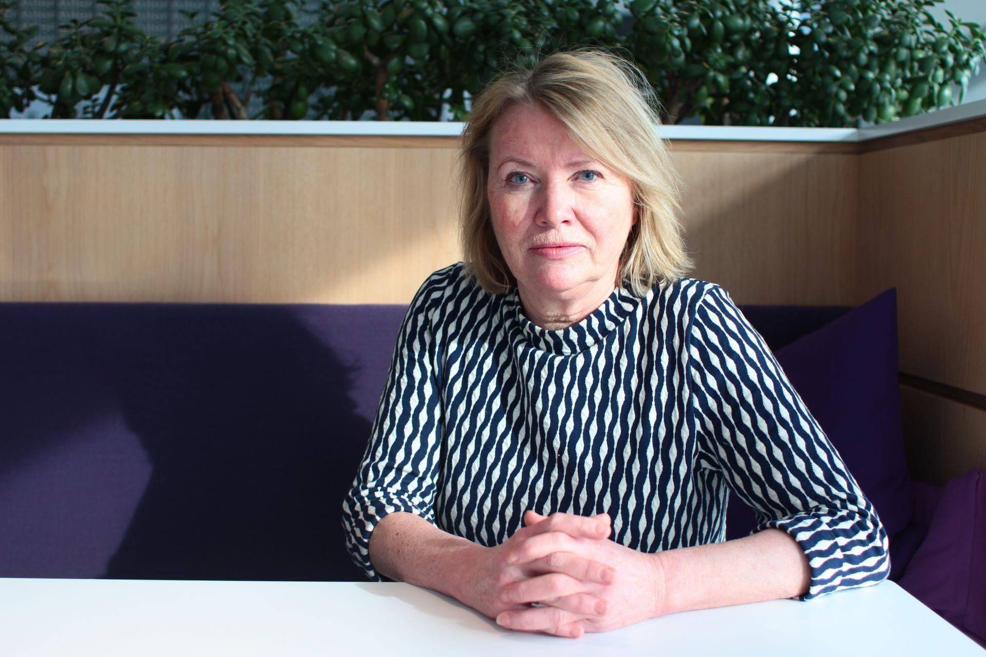 Kommentator Marie Simonsen i Dagbladet.