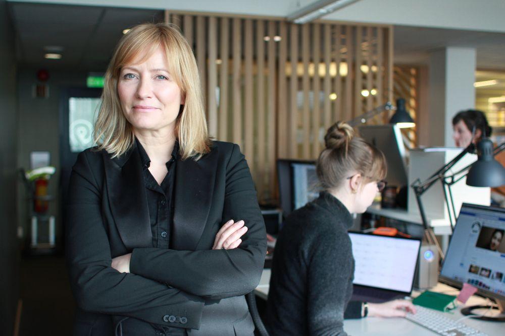 Sjefredaktør og administrerende direktør Ashild Mathisen i Vårt Land.