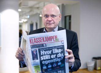 Redaktør Bjørgulv Braanen i Klassekampen.