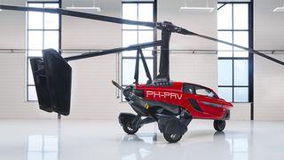 Pal-V er en bil og en autogyro.