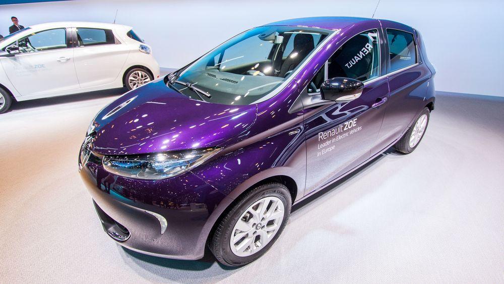 Renault Zoe kommer med litt mer motorkraft og en ny farge i 2018.