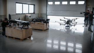 Den lille fabrikkens enorme droner kan være starten på et nytt norsk industrieventyr