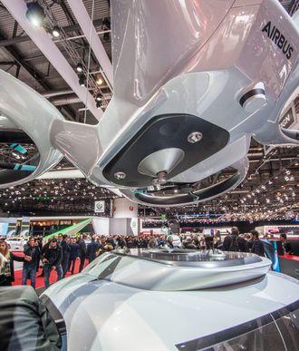 Airbus har utviklet et festesystem som skal sikre at passasjerdronen ikke faller av.