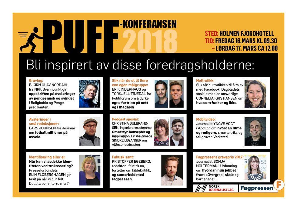 PUFF-konferansen 2018