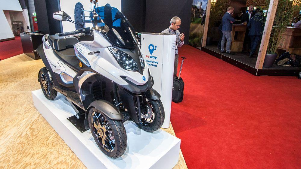Quadro Qooder er en firehjulet elektrisk scooter.
