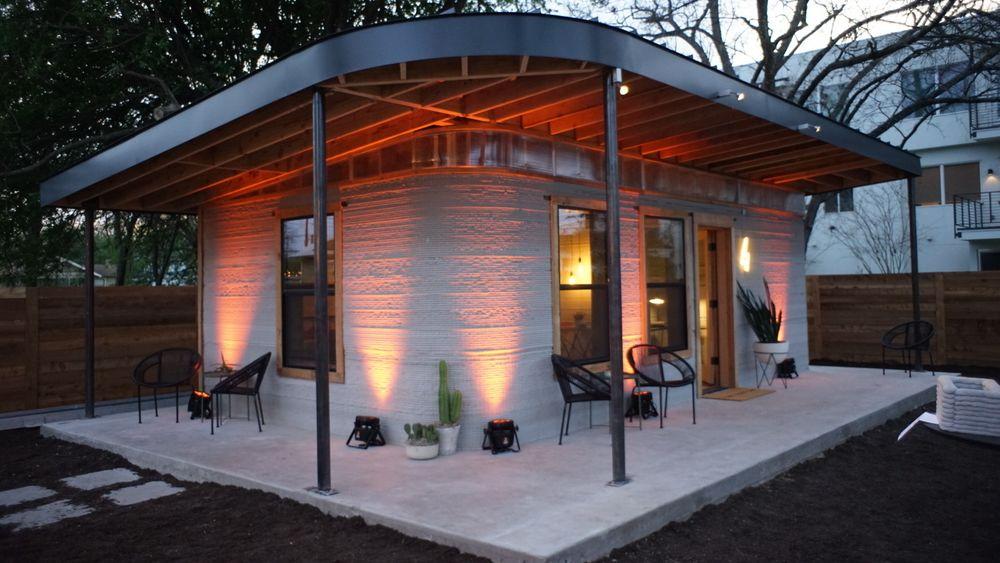 Dette huset er ifølge produsentene det første godkjente 3D-printede huset i USA.