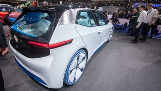 Volkswagens første bil ut i sin nye ID-serie av elbiler. Foreløpig er den bare et konsept.