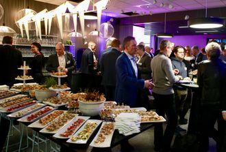 Fra åpningen av IBMs innovasjonssenter i Oslo.