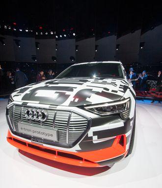 Audi E-tron Quattro i Genève.