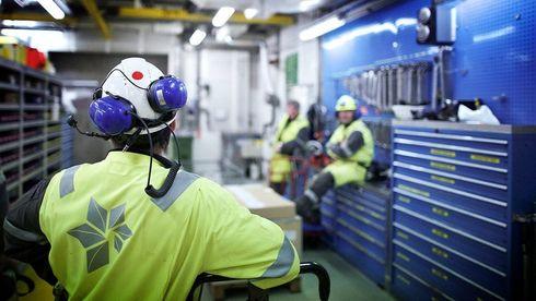 Færre jobber i oljeindustrien.