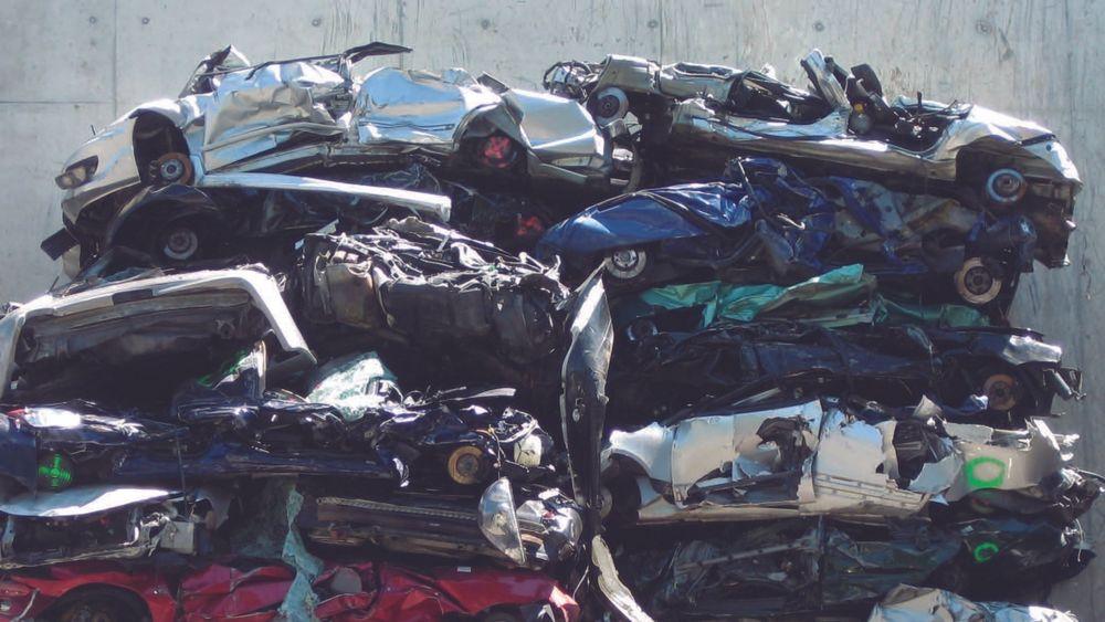 Resirkuleres: Vi resirkulerer biler i Europa, men ikke godt nok. Masse verdifulle metaller forsvinner i prosessen.
