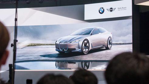 BMWs neste i-modell skal hete i4.