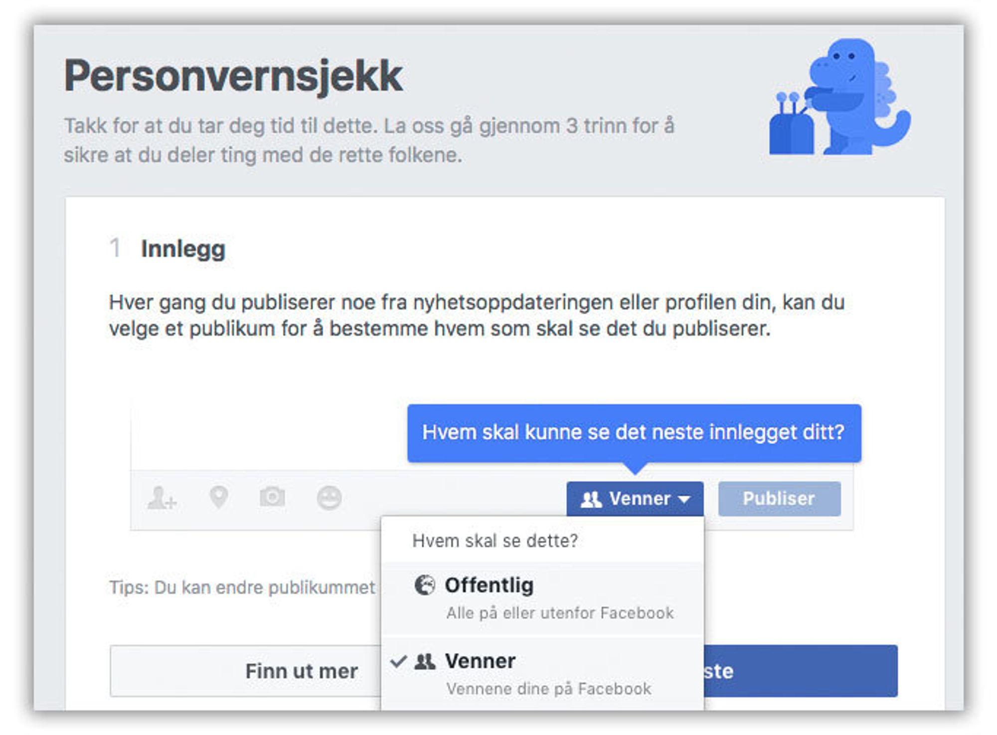 c0303201 GUIDE: Fire ting du kan endre i Facebooks innstillinger for å ikke ...