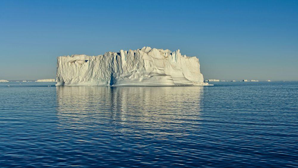 Isjfell på Grønland.