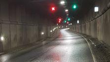 Rehabilitering av E18-tunneler i Kristiansand halvveis ferdig