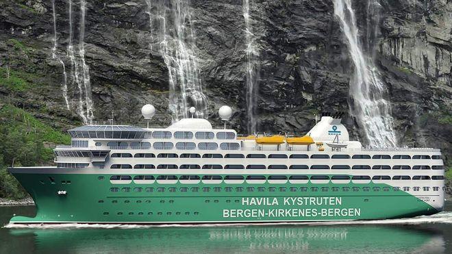 Hurtigruten og Havila deler kystruten Bergen-Kirkenes