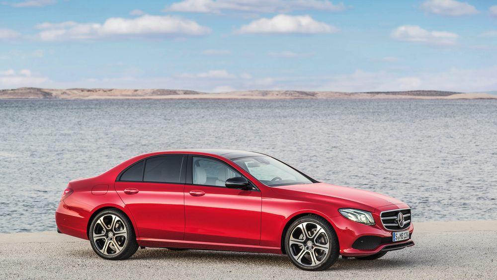 Mercedes-Benz E 220 D er en dieselbil som ifølge ADAC kan være et godt valg om du tenker på CO2-utslipp.