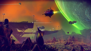 No Man's Sky kommer til Xbox One