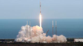 SpaceX skjøt opp rakett med norsk teknologi om bord