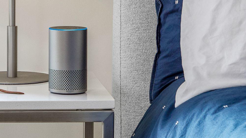 Neste marked: Elliptic Labs tror smarthøyttalere kan bli et nytt stort markeder for ultralydteknologien deres. Den kan fortelle høyttaleren om folk i rommet uten å bruker kamera som mange ikke liker.