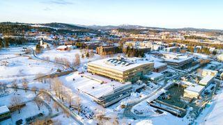 Til høsten åpner en av Norges mest energieffektive videregående skoler