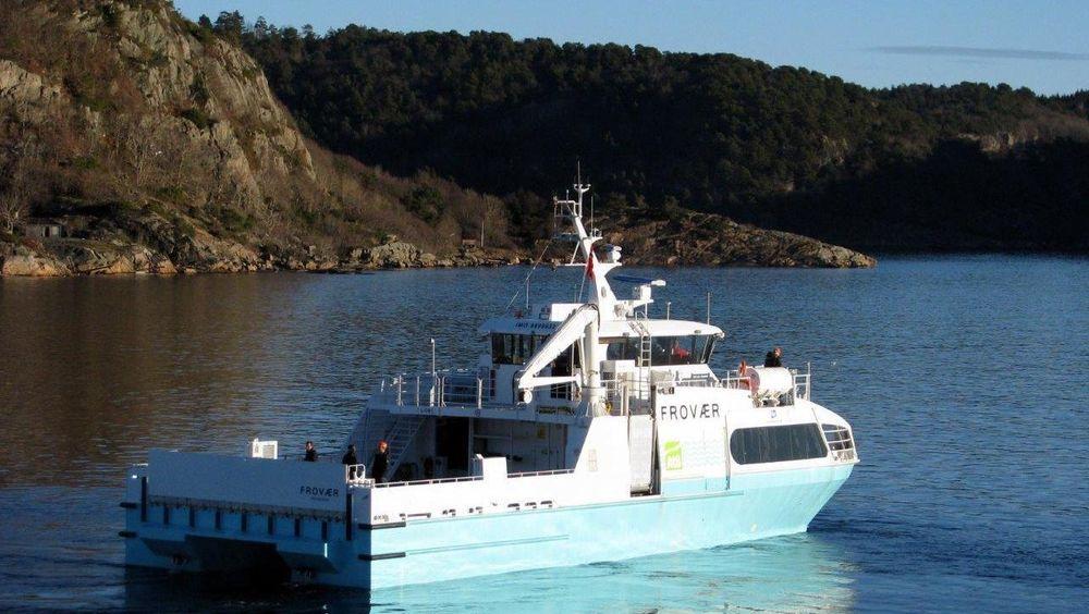 MS Frovær ble bygget av norske Båtservice.