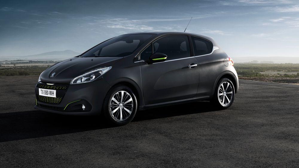 Dagens utgave av Peugeot 208.