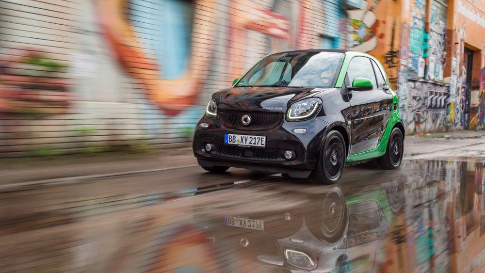 Smart blir et rent elbilmerke i Europa i 2020.