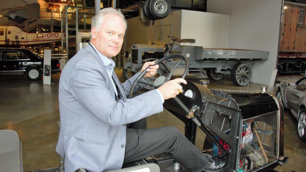 Frode Meinich, ny direktør for Teknisk museum.