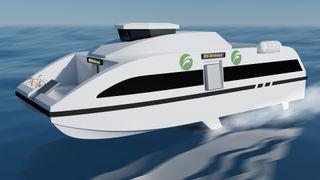 5 aktører jobber med konsepter: Hurtigbåter uten utslipp kommer i 2022-2023