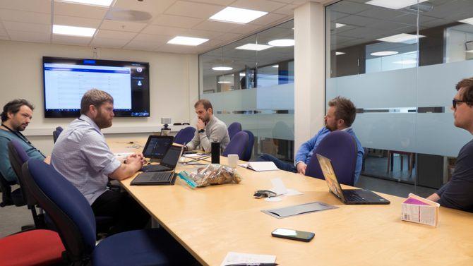 Koordineringsmøte for NCSC. Foto.