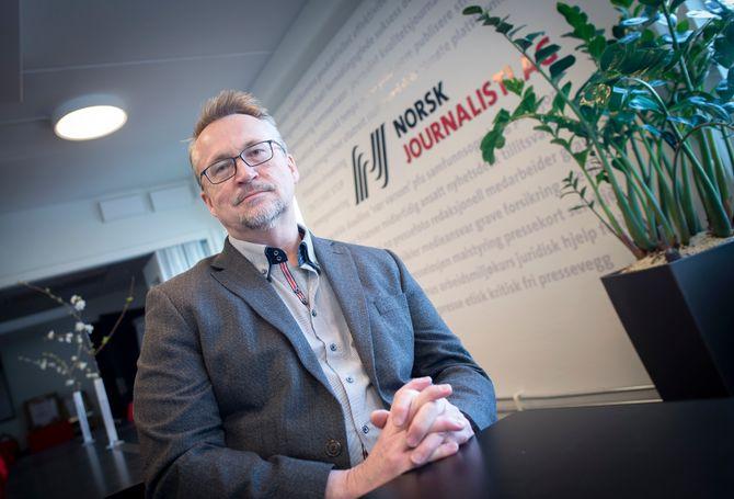 Sekretariatsleder Torbjørn Brenna i Norsk Journalistlag.