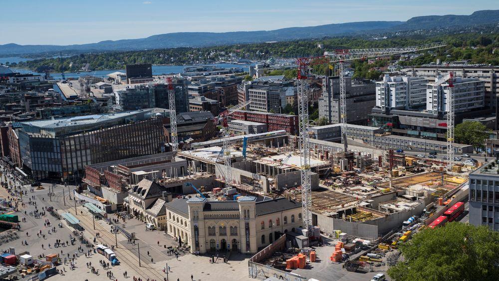 Statsbygg bygger nytt nasjonalmuseum på Vestbanen i Oslo.