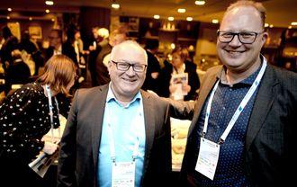 LLA-generalane Rune Hetland og Tomas Bruvik.
