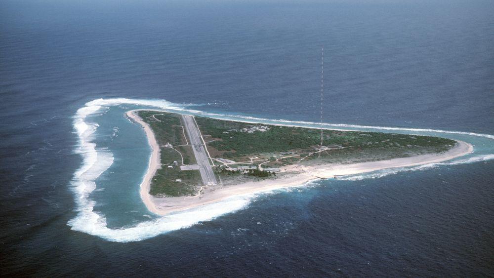Minamitori er den sørligste japanske øyen. Korallatollen er i dag en værobservasjonspost.