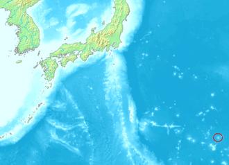 Minamitori ligger langt fra den japanske hovedøya.