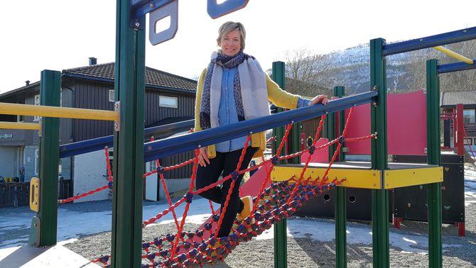 Ann Elin Øyen Løfald, styrer i Bårdshaugen barnehage i Surnadal