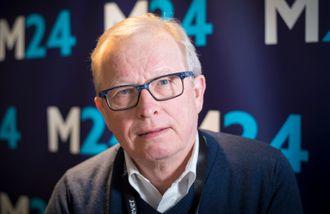 Bernt Olufsen, mediekritiker.