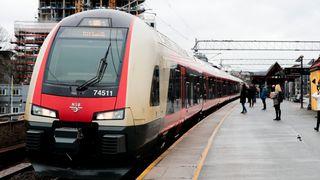 136.841 hendelser som ga forsinkelse eller innstilling av tog i fjor