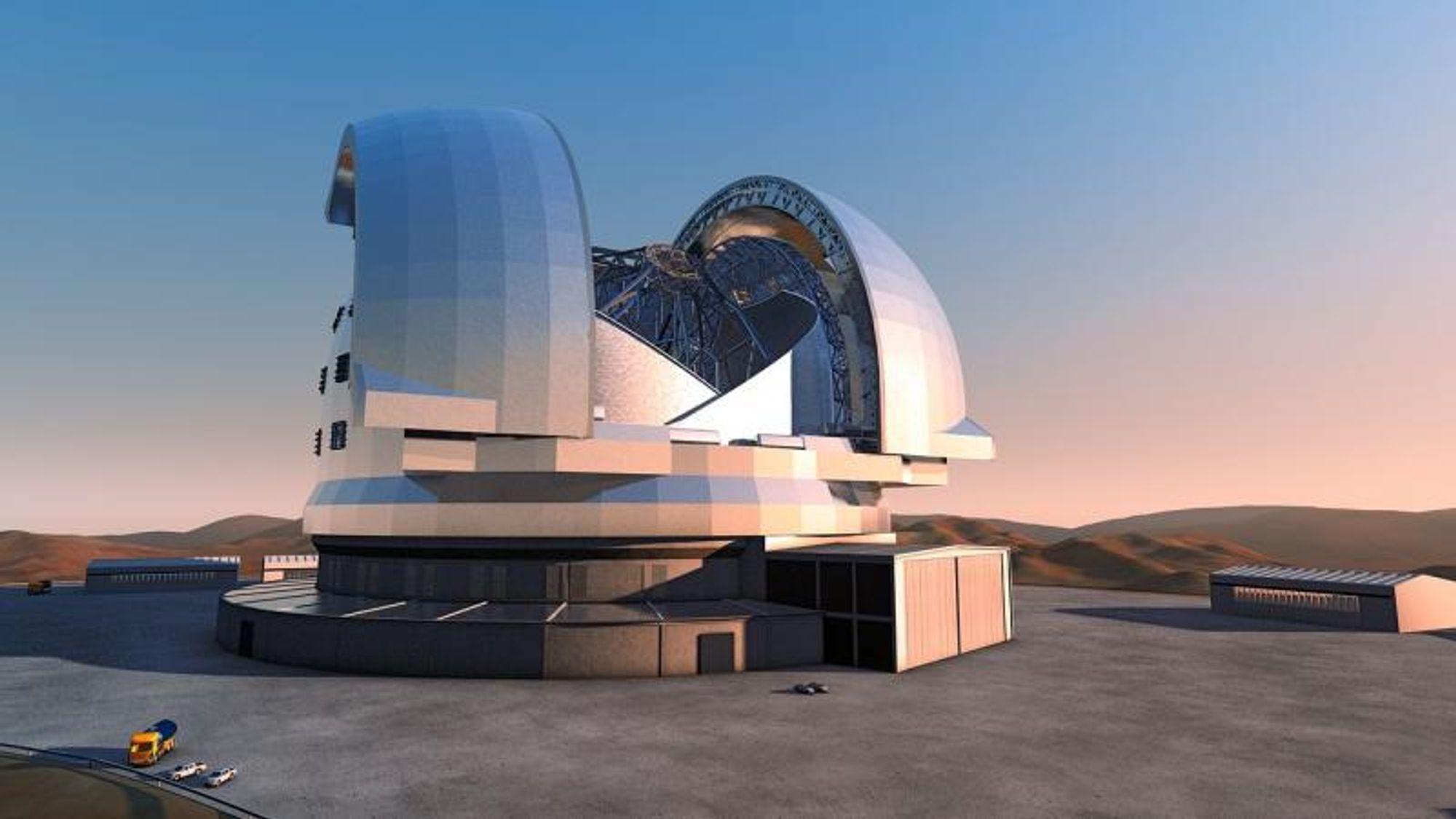 Danske Force Technology er med på å fjerne bildeforvrengninger fra kjempeteleskopet i Chile.
