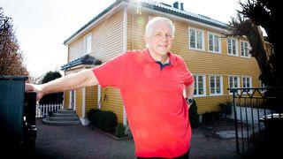 Huset ligger i et lite utsatt område, likevel var kjelleren full av radongass