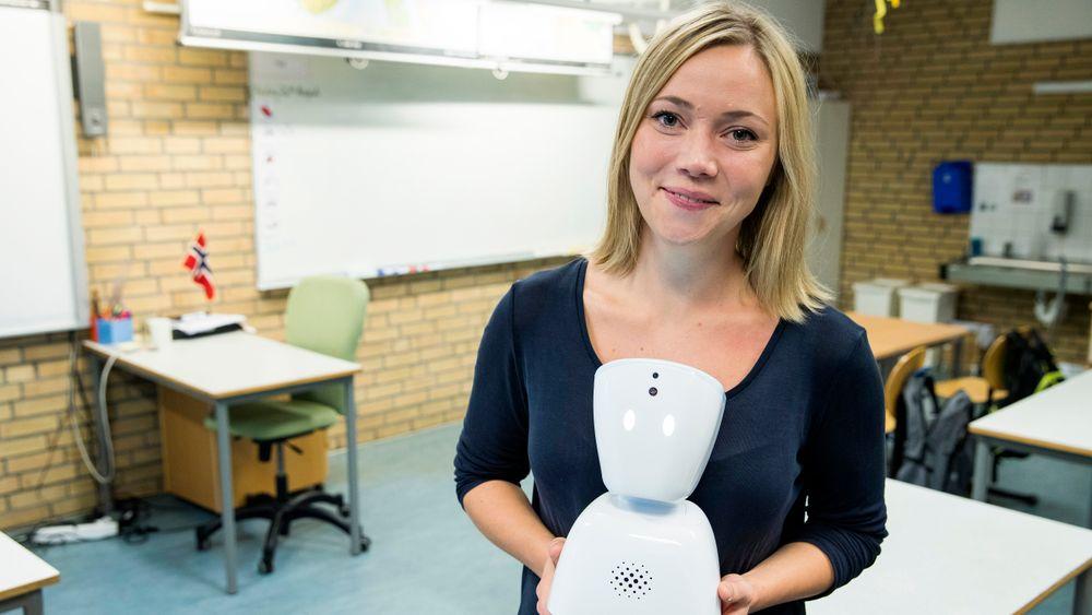 Karen Dolva hoppet av studiene i 2014. I 2015 startet hun No Isolation, som har vokst til et selskap med rundt 60 ansatte. Her fra Hvalstad i 2016.